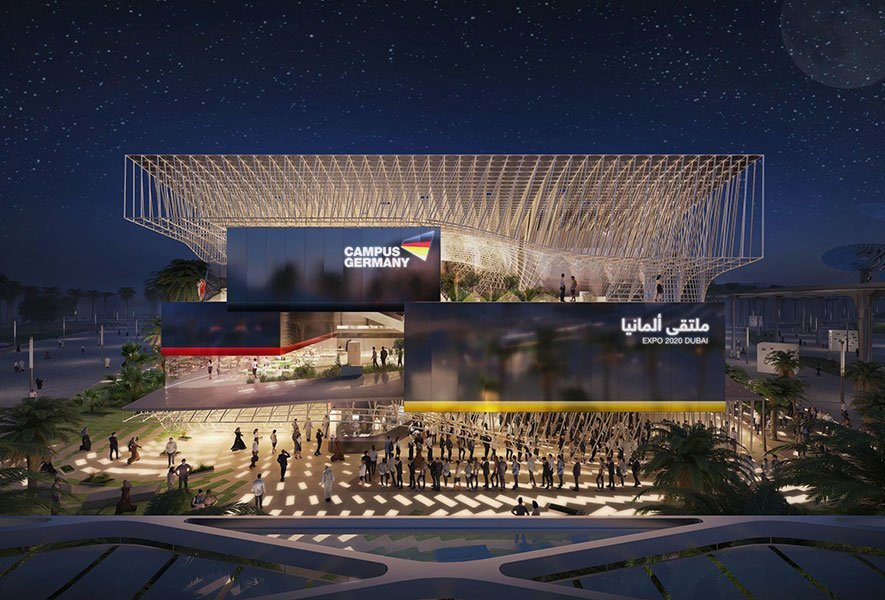 Campus Germany Expo Dubai 2020 © LAVA