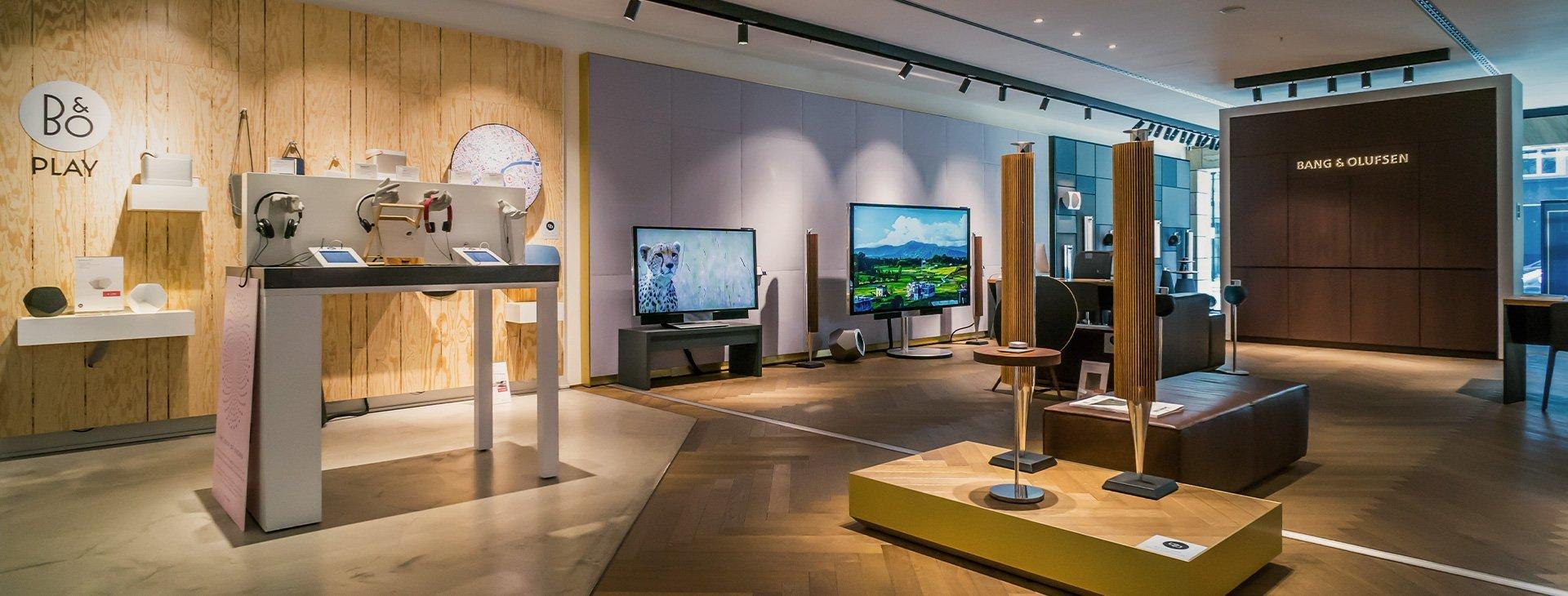 bang olufsen ihre stores im stilwerk berlin. Black Bedroom Furniture Sets. Home Design Ideas