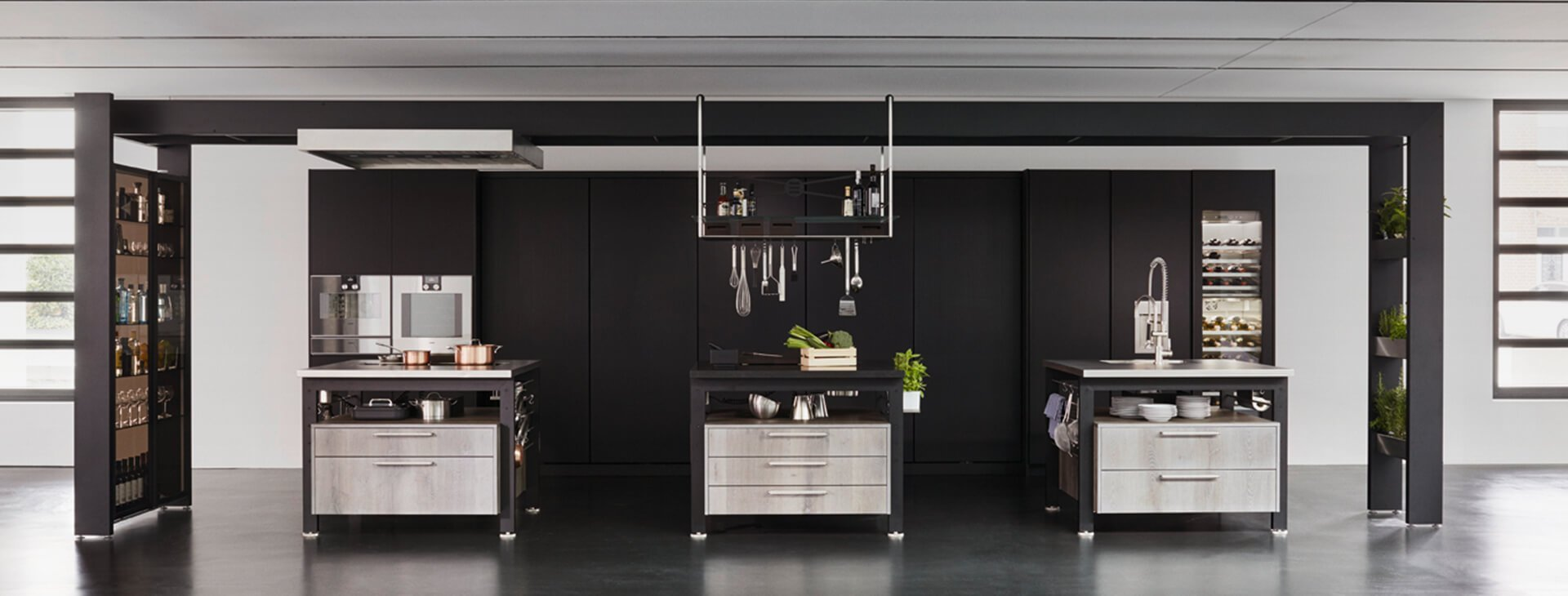 intact k chen design b der m ller ihre stores im stilwerk d sseldorf. Black Bedroom Furniture Sets. Home Design Ideas