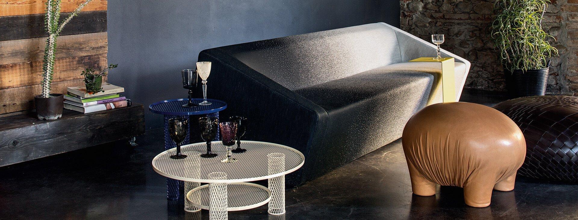 Moroso ihre brands im stilwerk berlin for Italienische polstergarnituren