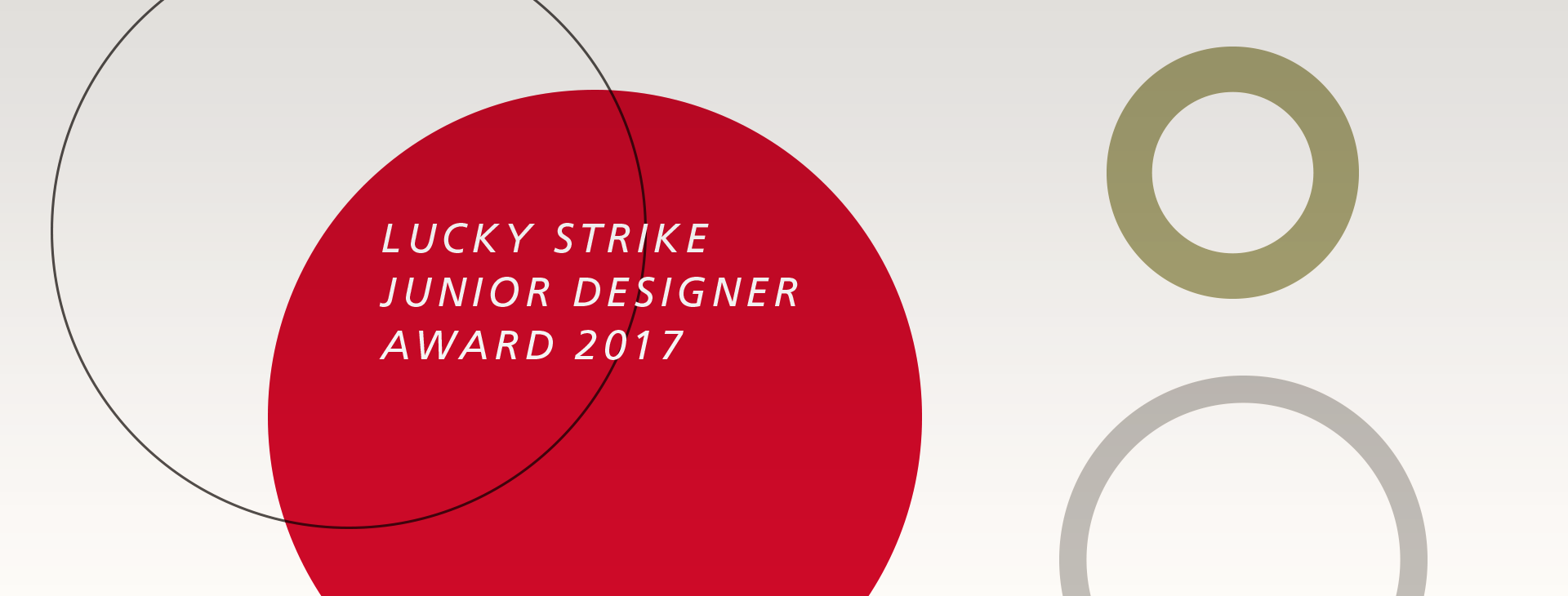 lucky strike junior designer award 2017 stilwerk news. Black Bedroom Furniture Sets. Home Design Ideas