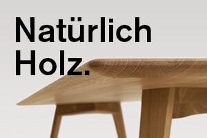 Natürlich Holz.